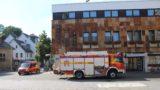 Feuerwehr auf dem Marktplatz</br>Vorbereitung Aktionstag