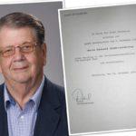 Gerhard Schöttelndreier seit 25 Jahren Ortsvorsteher</br>Gegen Beteiligung der Anlieger an Straßenausbaukosten