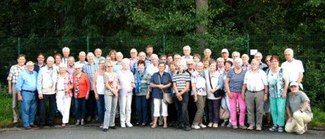 Ausflug der Siedler nach Münster