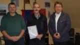 Ernennungsurkunde für Frank Wolf</br>Weitere sechs Jahre stellvertretender Ortsbrandmeister