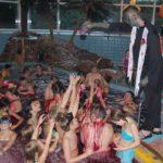 Halloween im Hallenbad</br>Baden zwischen Gespenstern und Spinnennetzen
