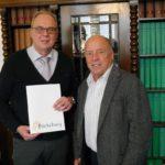 40-jähriges Dienstjubiläum</br>Bürgermeister ehrt Heinrich Stummeier
