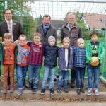 Kein Tag ohne Fußball</br>Neues Tor für die Grundschüler
