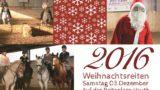 """Eine Reise durch die """"Pferdefilmwelt""""</br>Nikolaus besucht Reitanlage Vauth"""