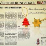 Top versichert – auch zu Weihnachten!