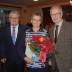 Ehrung für Ingeborg Riensche-Voigt</br>Weihnachtsfeier Sozialverband