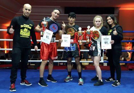 Drei Champions-Gürtel für Sporium</br>Erfolgreiche Kampf- und Sportschule