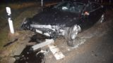 Schwerer Verkehrsunfall</br>Audi S 7 nur noch Schrottwert