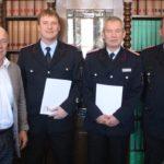 Feuerwehr Rusbend:</br>Bewährtes Führungsteam bleibt im Amt