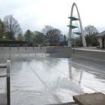 Wasser läuft in die Schwimmbecken</br>Bergbad zum 1. Mai betriebsbereit