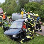 """33 Einsatzkräfte """"exakt im Zeitrahmen""""</br>Zug-Übung """"Verkehrsunfall"""" der Freiwilligen Feuerwehr"""