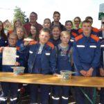 Doppelsieg für Jugendfeuerwehr Cammer</br>Niedersächsisches Ehrenzeichen für Marius Andrei