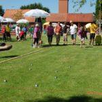 """Feiern bis in die frühen Morgenstunden</br>""""Grashoppers"""" gewinnen traditionelles Boule-Turnier"""