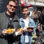 Einhorn-Milchshakes und süße Pommes</br>Streetfood-Markt gefällt den Besuchern