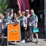 """""""Bilche"""" als Helfer beim Kirchentag dabei</br>Danksagungen als Motivation"""