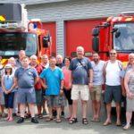 Feuerwehr besucht französische Partnerfeuerwehr
