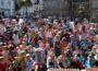 700 Kinder feiern Krengelfest auf Marktplatz</br>Erinnerung an Wirken von Dr. Bernhard Christoph Faust
