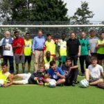 Sponsoren besuchen VfL-Freizeitliga