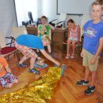 Ferienkinder besuchen den ASB</br>Grundzüge der Ersten Hilfe