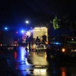 Feuerwehr nach Dauerregen im Einsatz