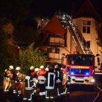 Wohnhausbrand in Altstadt</br>Großeinsatz für Feuerwehren