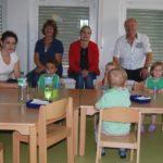 """""""Jedem Kind etwas zutrauen""""</br>Marja-Liisa Völlers besucht Kindergarten und Krippe"""