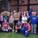 Trachtengruppe feiert Erntefest</br>Festumzug, Ernterede und Tänze am Sonntag
