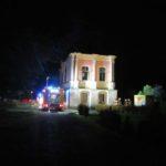 Brand auf Schloss Baum</br>Nächtlicher Großeinsatz für Feuerwehren