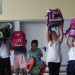 Immanuel Grundschule:</br>Dreizehn neue Erstklässler in die Schulfamilie aufgenommen