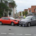 Verkehrsunfall auf Kreuzung