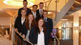 Volksbank in Schaumburg:</br>Freude über sieben neue Auszubildende