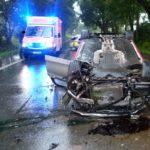 Auto überschlägt sich</br>Fahrer nur leicht verletzt