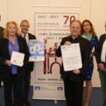70 Jahre Kulturverein</br>Stiftung und Volksbank fördern Jubiläumsprogramm des Vereins mit 17.000 Euro