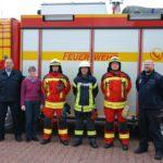 Stadt Bückeburg geht mit der Zeit</br>Neue Schutzkleidung für die Feuerwehr