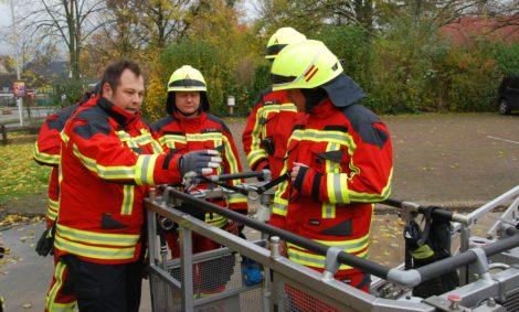 Unterweisung der Feuerwehr ins IRS-System