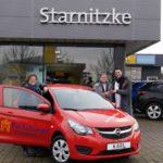 """Hauptgewinn Opel """"KARL"""" geht nach Löhne"""