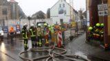 Bagger beschädigt Gasleitung</br>Großeinsatz für Feuerwehr und Rettungsdienst