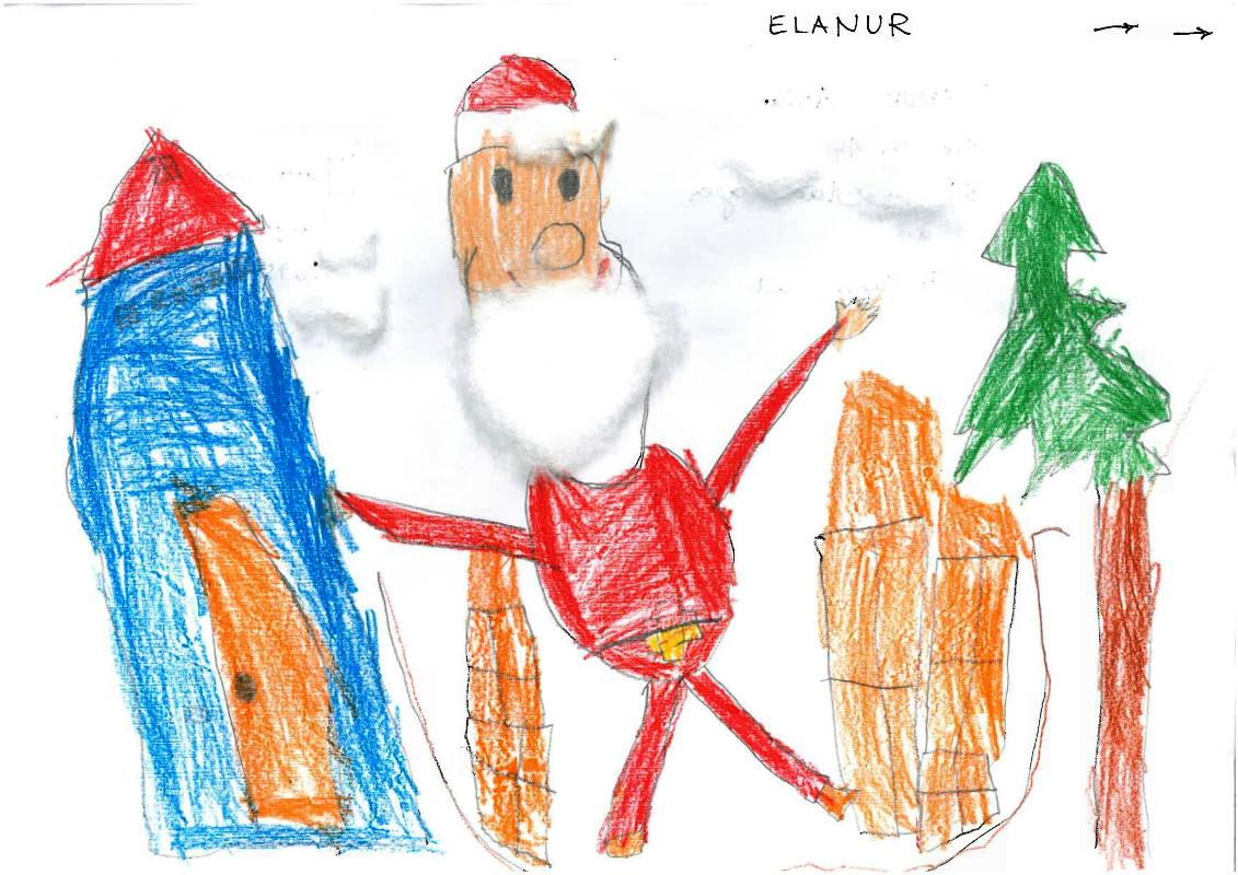 Tolle Weihnachtsbilder.Tolle Bilder Beim Malwettbewerb Bückeburg Lokal Bückeburg Lokal