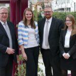 Fortbildung auf hohem Niveau</br>Volksbank in Schaumburg ehrt Mitarbeiter für ihre Leistungen