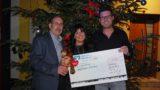 Gutes tun und Spaß haben</br>Advent-Akzent spendet 2.000 Euro für das Kinderhospiz Löwenherz
