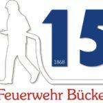 Logo für das Jubiläumsjahr</br>150 Jahre Freiwillige Feuerwehr Bückeburg-Stadt
