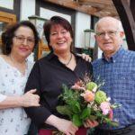 """Jubiläum im """"Mühlenhus""""</br>Elvi Peschel 25 Jahre im Serviceteam"""