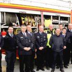 Feuerwehren besichtigen Klinikum</br>Zwei Fahrzeuge für Werkfeuerwehr