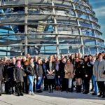Drei Tage in der Hauptstadt</br>Völlers empfängt ihre erste Besuchergruppe