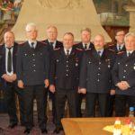 Feuerwehrmänner in Altersabteilung verabschiedet</br>Ernst-Wilhelm Dettmer 60 Jahre in der Feuerwehr