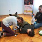 ASB Bückeburg bildet neue Schulsanitäter aus</br>Gute Ausbildung macht Schüler selbstbewusster