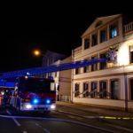 Brand eines leerstehenden Mehrfamilienhauses</br>Polizei geht von Brandstiftung aus