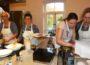 Tagliatelle mit Lachs und Orangen-Mascarponecreme</br>Gasthof Vehlen bietet Kurse für Kochbegeisterte