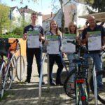 Sattelfest – eine Stadt fährt Rad</br>Volksradfahren, Versteigerung, Fahrradwaschanlage