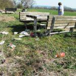 Vandalen hinterlassen Mengen an Müll